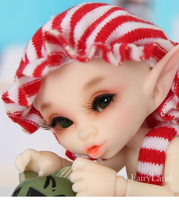 muñeca recast Fairyland Realpuki Kaka 1/13 BJD Dolls Resin SD cute tiny dollfi