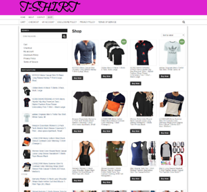 FULLY-STOCKED-T-SHIRT-WEBSITE-WITH-NEW-DOMAIN-amp-ONE-YEARS-HOSTING-ECOMMERCE