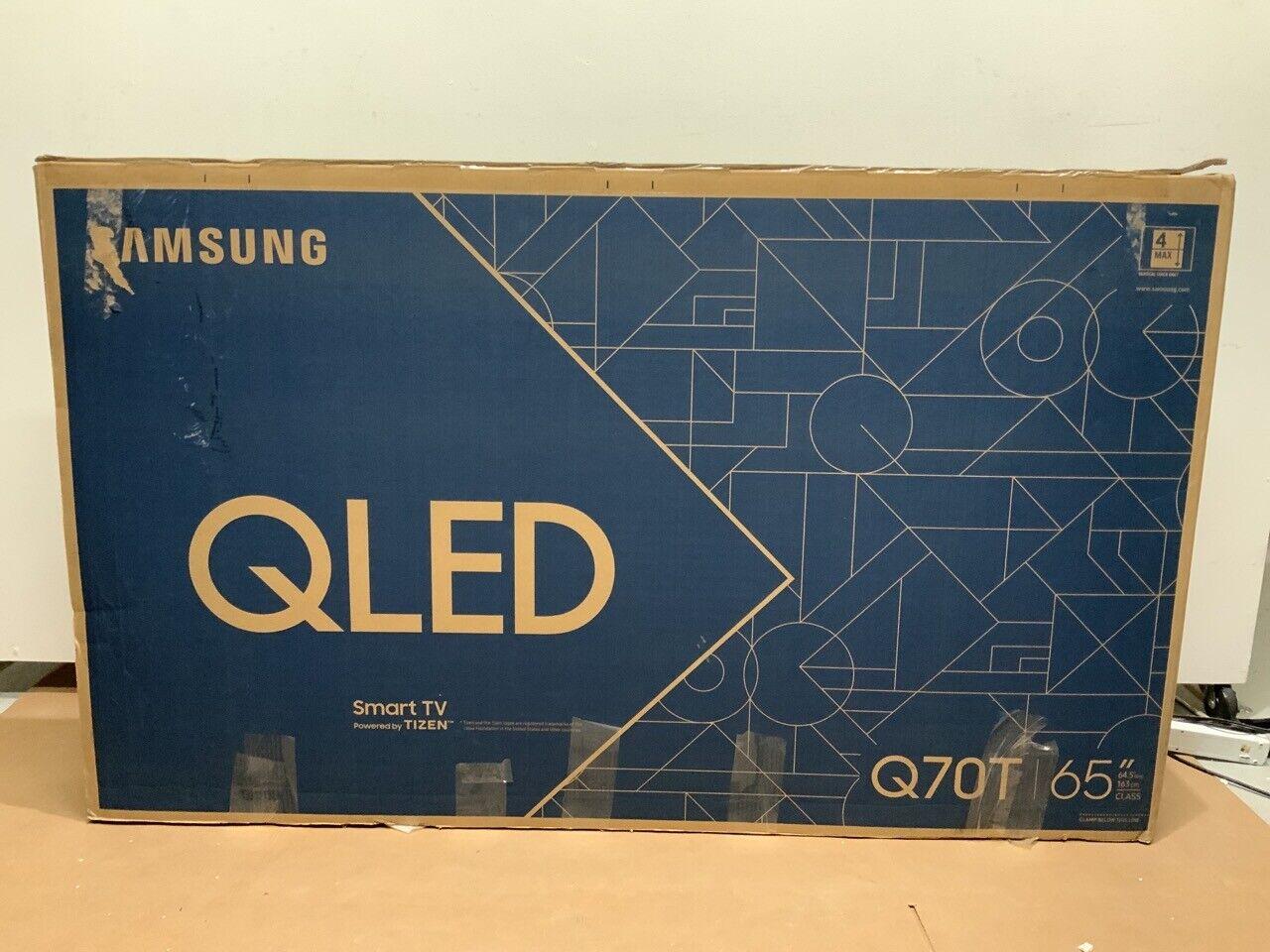 ⭐ Samsung QN65Q70TA QLED 65 Quantum 4K UHD HDR Smart TV QN65Q70TAFXZA 2020 ❤️. Available Now for 899.99