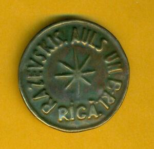 Lettonia-Lettland-Riga-Distintivo-Medaglia-26