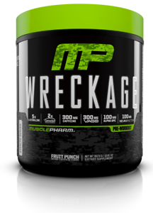 MusclePharm-WRECKAGE-Pre-Workout-Energy-Endurance-25-Servings-PICK-FLAVOR