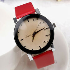 Neutral Leisure Letters Motion Simulation Of Electronic Quartz Watch Red R