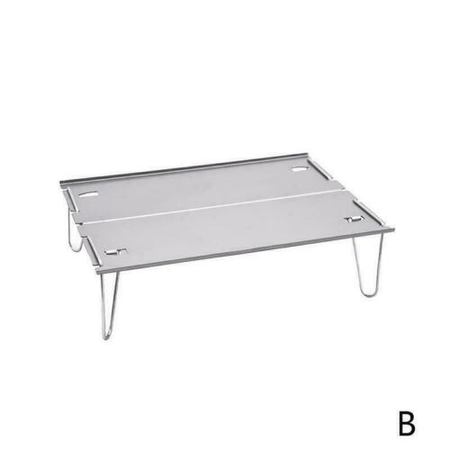 Aluminum Alloy Outdoor Camping Folding Table Beach Mini Portable Tool NEW J4M9