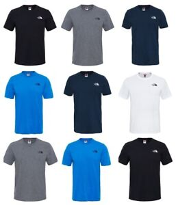 The-North-Face-Mens-T-Shirts-TNF-simple-cupula-de-Mangas-Cortas-Algodon-Camiseta-Camiseta