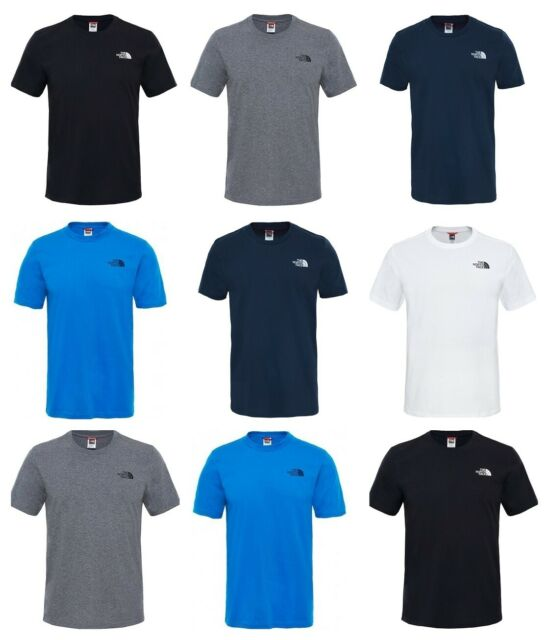 834842ee1 The North Face Mens Simple Dome T Shirts TNF Short Sleeve Cotton Tee T-Shirt