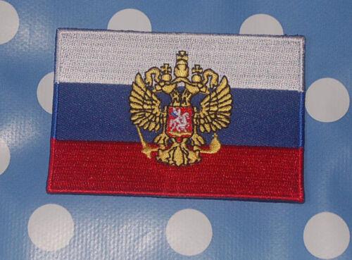 Russland Adler Aufnäher Aufbügler Patch Flagge
