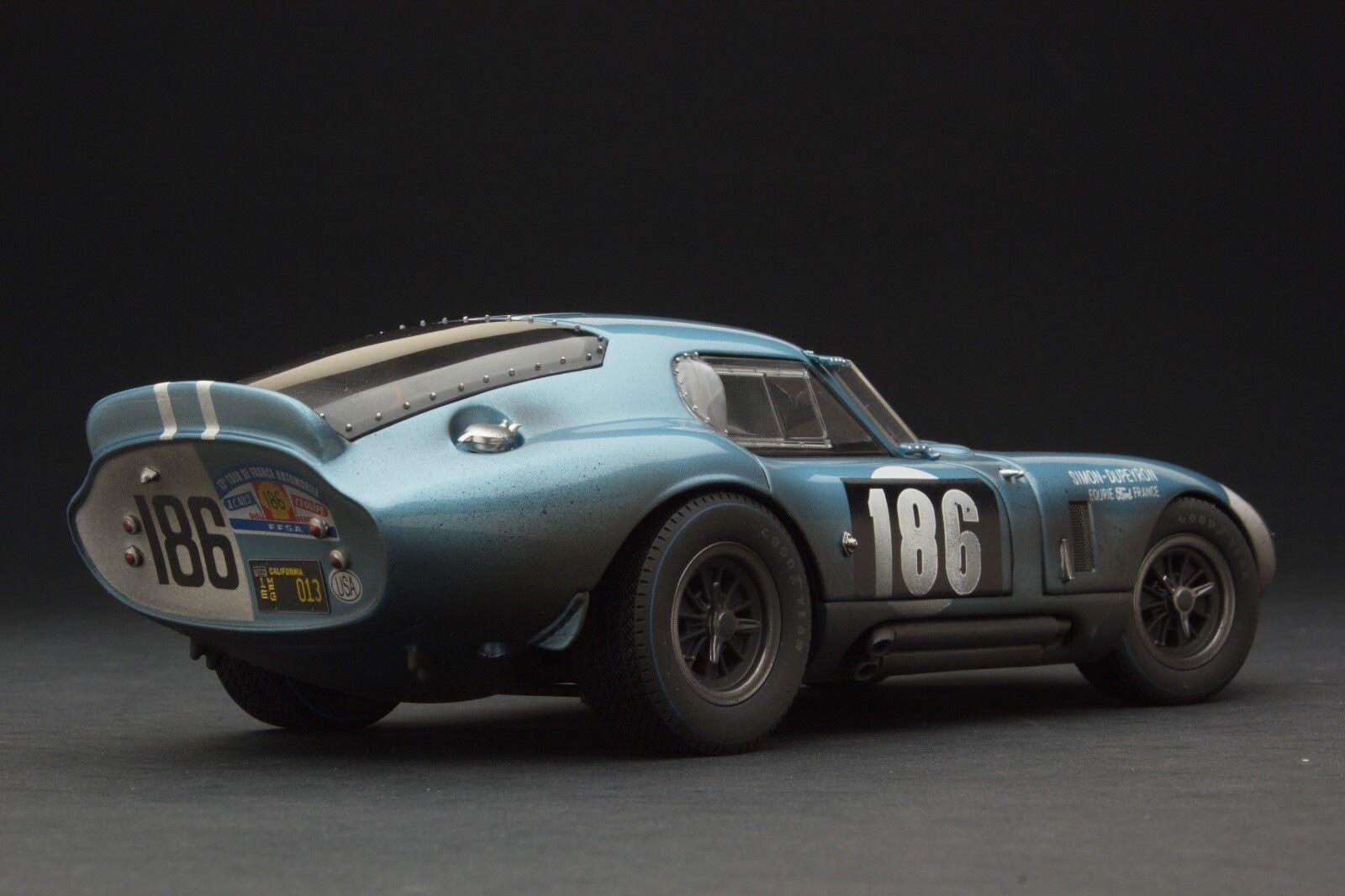 Carrera Capeado Exoto 1 18 1964 Cobra Daytona Coupé Tdf  RLG18016BFLP