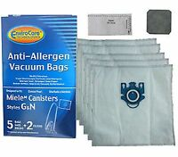 5 Miele Gn Vacuum Bags S5 Galaxy Series And S600 Series Canister