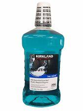 Kirkland Signature Antiseptic Mouth Rinse Ice Mint Mouthwash 1.5 L