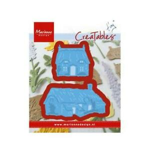 Marianne Design CREATABLES  Cutting /& Embossing Die TINY/'S COTTAGES LR0453