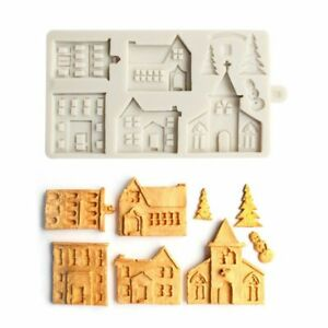 1X Christmas Gingerbread Man Mold Cake Fondant Decorating Mould Tool S8Z1