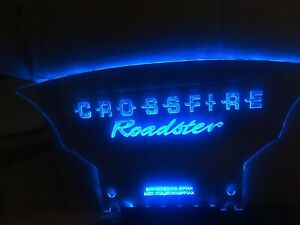 Crossfire Wind Restrictor screen deflector blocker laser etched graphic