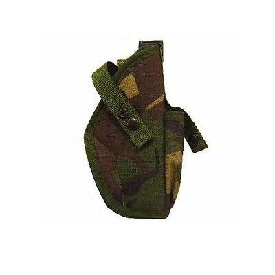 DPM Pistol Holster, Other Ranks Right Hand PLCE Camo IRR Treated Gun Holder, New