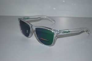 38156e160 La imagen se está cargando Oakley-Frogskins-Gafas-de-Sol-Oo9013-d655- Transparente-