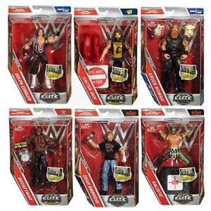 WWE Mattel Elite 48 Wrestling Figure NEUF/coffret  </span>