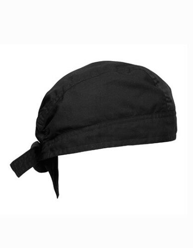 Kochmütze WRAP zertifiziert Premier Workwear Chef´s Zandana bis 60°C waschbar