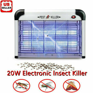 Lamp Insect Killer Mosquito Zapper Bug Pest Fly Trap Electric Indoor Light Lawn