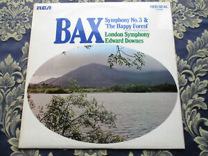 BAX SYMPHONY NO3 amp THE HAPPY FOREST LONDON SYMPHONY ORCHESTRA EDWARD DOWNES RCA - Corby, United Kingdom - BAX SYMPHONY NO3 amp THE HAPPY FOREST LONDON SYMPHONY ORCHESTRA EDWARD DOWNES RCA - Corby, United Kingdom