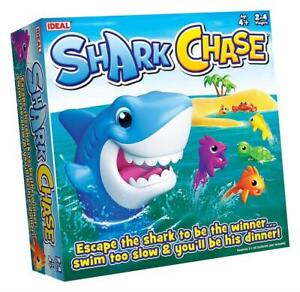 Shark Chase Board Game Age 4+ By Ideal Games - Brand New