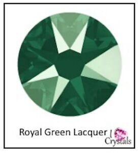 fca16b6b23a ROYAL GREEN Lacquer 16ss 4mm 144 pcs Swarovski Crystal Flatback ...