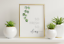 miniature 27 - Bathroom Prints Botanical Eucalyptus STUNNING FINE ART PICTURE Minimalist funny