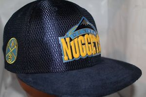 sports shoes 7f884 28571 Image is loading Denver-Nuggets-New-Era-NBA-On-Court-9Fifty-