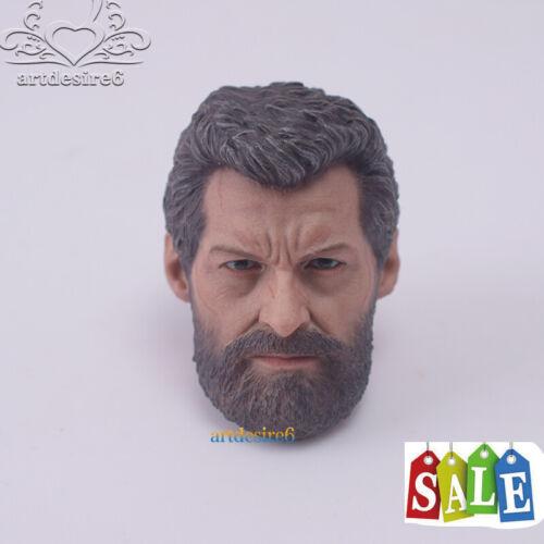 "Eleven 1//6 Scale Oldman Old Head Sculpt VM05 Wolverine 3 Logan Rogan F 12/""Body"