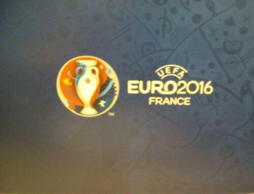 Wales Match 49 Menükarte blue UEFA Euro 2016 Portugal