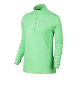 90596ef4780a2 NEW Nike Dri-Fit Women s Sz M 1 2 Zip Long Sleeve Running Layer ...