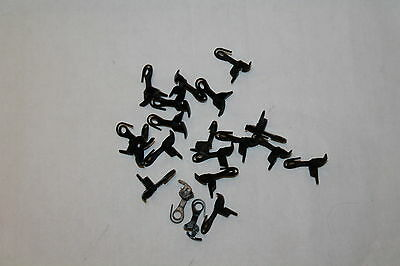 ** Misc Athearn Blue Box Parts ** 12-Metal Draft Box Clips NOS and Take Offs ***
