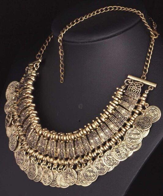 Fashion pentand Crystal Bib Statement charm chunky colorful collar Necklace 933