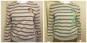 Harry-Potter-Pull-Sweat-shirt-a-Rayures-Top-Gryffondor-Serpentard-Femme-Primark