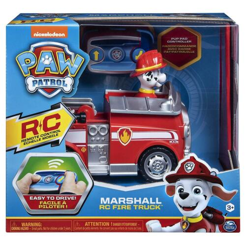 Paw Patrol 6054195 Marshall Remote Control Fire Truck avec 2-way de direction