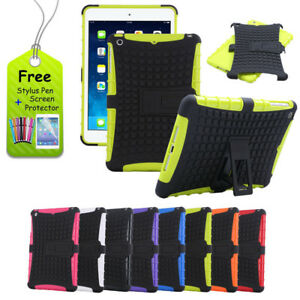 KIDS-HEAVY-DUTY-SHOCKPROOF-STAND-CASE-COVER-FOR-APPLE-iPad-2-3-4-5-AIR-MINI-Pro