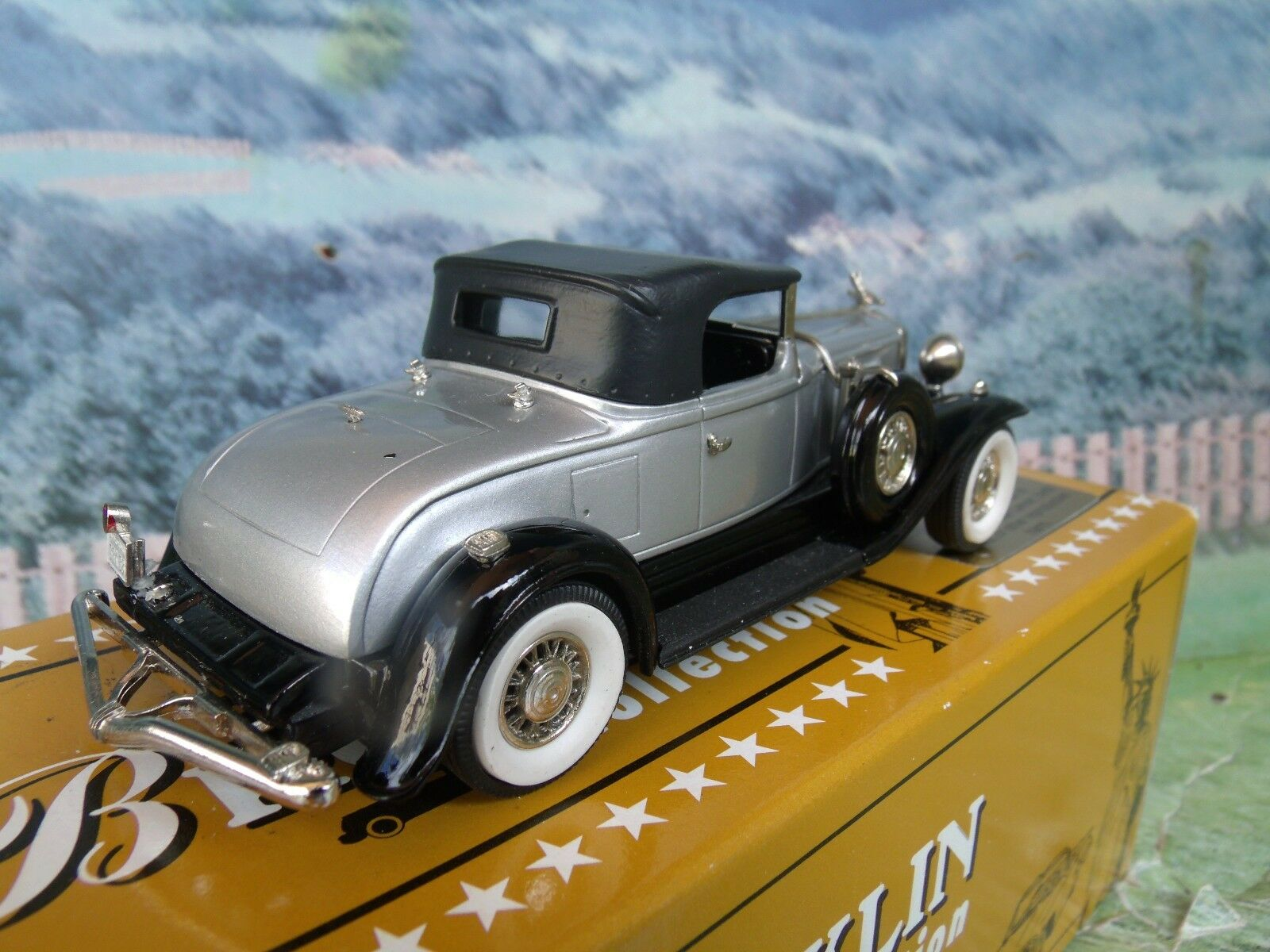 1   43 brooklin modelle modelle modelle (england) 1931 studebaker präsident brk - 88 weißes metall c324a7