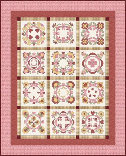 New Applique Quilt Pattern   BALTIMORE BLISS   76x94