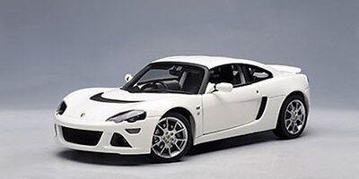 AUTOART 1/18 British Lotus Europa S - White Die-Cast Super Car #75368 US Seller