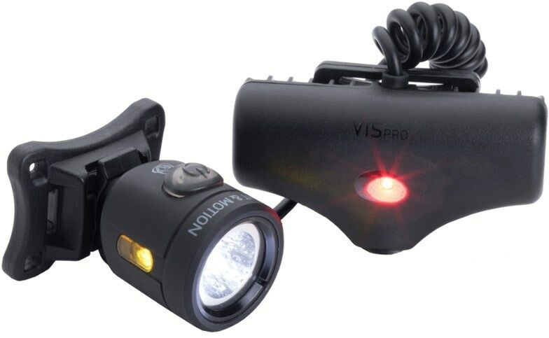 Light & MOTION Vis Pro 6 Luz de Casco para bicicleta 600 LUMENS USB NEGRO  149.99