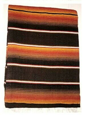 Trinity Serape 84x60 inch Mexican blanket Seat cover Lowrider motorcycle red.