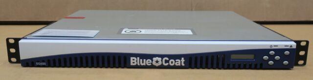 BlueCoat ProxySG 600 SG600-20-M5 Web Security Proxy Appliance 090-02913