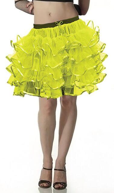 CRAZY CHICK 3 LAYER TUTU SKIRT FANCY DRESS HEN STAG 80/'S FUN RUN NEW