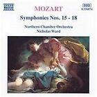 Wolfgang Amadeus Mozart - Mozart: Symphonies Nos. 15-18 (1995)