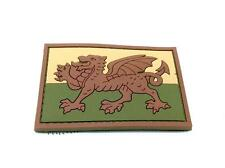 Wales Welsh Dragon Flag Subdued Airsoft PVC Patch