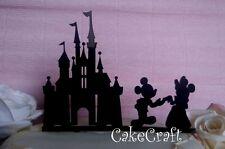 Acrilico Castello di Disney Mickey & Minnie compleanno,topper per torte nuziali