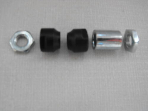 2 x Bearing CONES 1 x SPACER Cycle//Bike REAR STEEL AXLE SHAFT 2 xThin NUTS