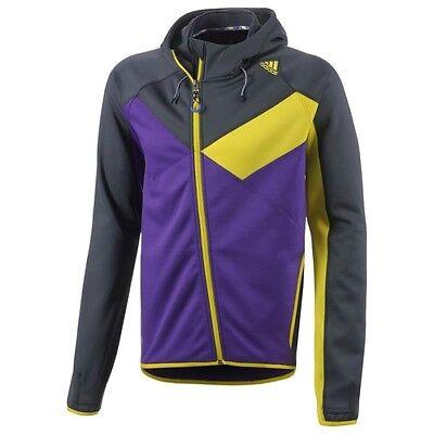 Nouveau homme adidas zip veste à capuche polaire manteau à capuche survêtement sweat | eBay