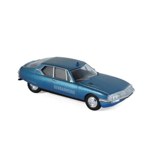 "Norev 310704 Citroen SM /""Gendamarie/"" blau Maßstab 1:64 Modellauto NEU!°"