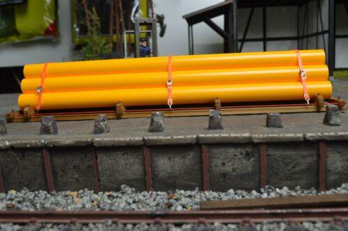 """140//69 /""""tubi di colore giallo//magazzino impalcatura/"""" traccia 1 Rinfusa n"""