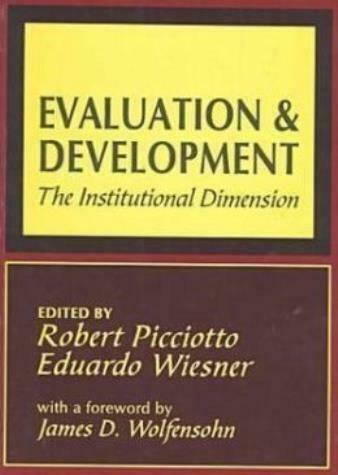 Evaluation And Development: The Institutional Dimension