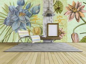 3D-Baby-blue-flowers-1-WallPaper-Murals-Wall-Print-Decal-Wall-Deco-AJ-WALLPAPER